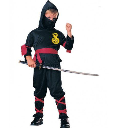 Goedkoop Ninja Jongen Kostuum