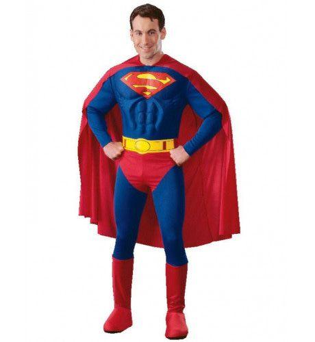 Gespierde Superheld Superman Man Kostuum