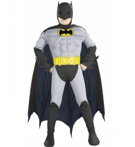 Gespierde Batman Superheld Jongen Kostuum