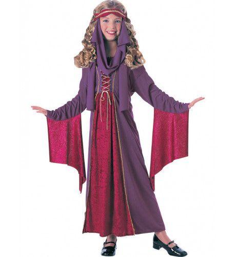 Gothic Prinses Meisje Kostuum