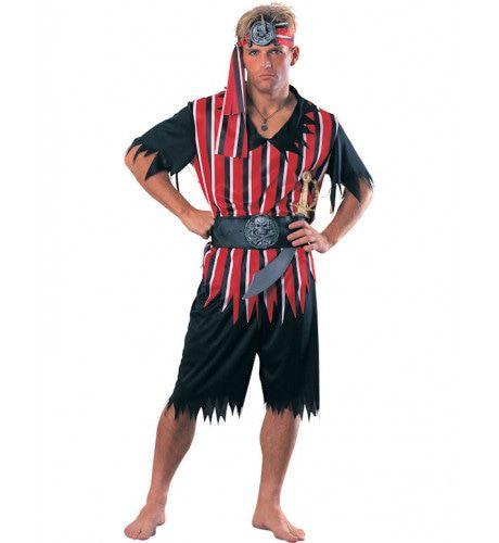 Tropische Piraat Man Kostuum