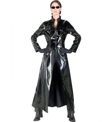 Officiele Matrix Trinity Vrouw Kostuum