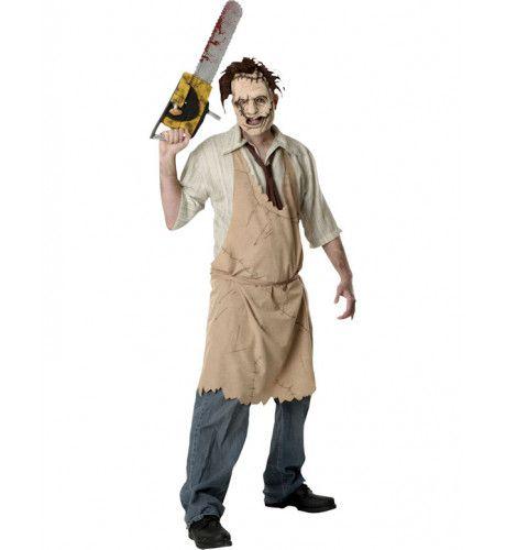 Leatherface Halloween Man Kostuum