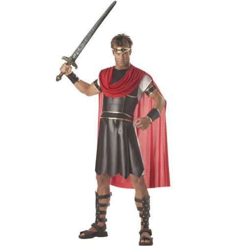 Luxe Romeinse Hercules Man Kostuum