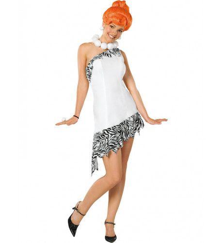 Luxe Wilma Flintstone Vrouw Kostuum