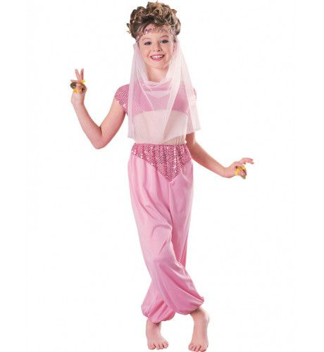Haremkostuum Meisje Kostuum