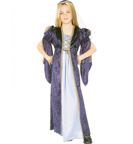 Julia Kasteel Meisje Kostuum