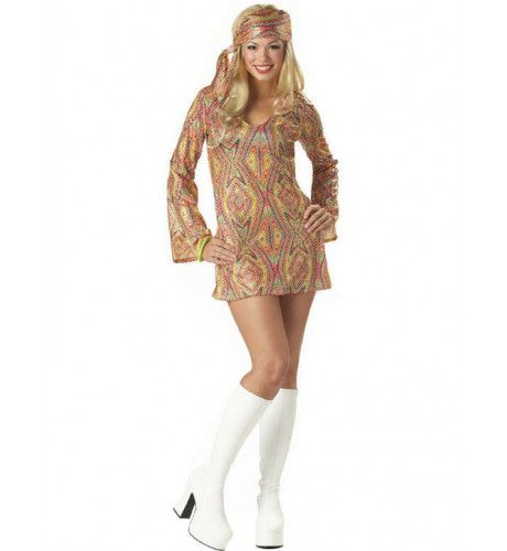 Disco Dolly Jaren 70 Vrouw Kostuum