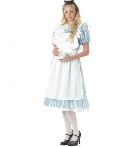 Alice In Wonderland Vrouw Kostuum