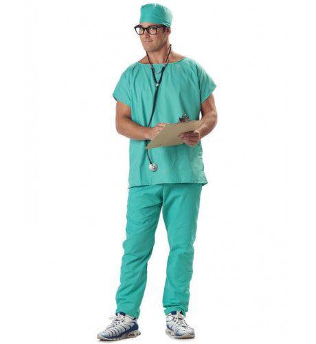 Doctor Scrubs Man Kostuum