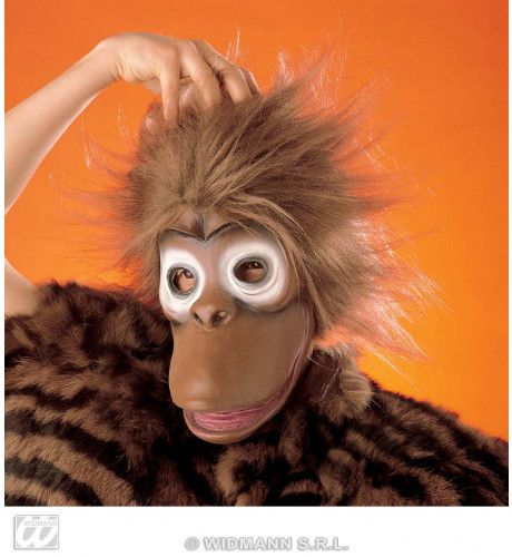 Masker Gorilla Met Pluche Haar
