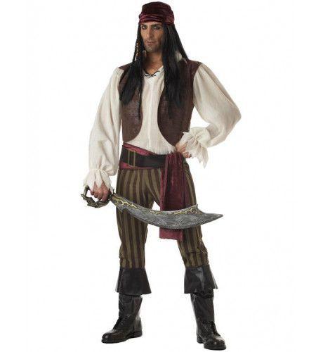 Rogue Piraat Man Kostuum