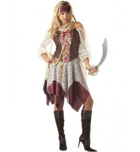 Zuiderzee Sirene Piraat Vrouw Kostuum