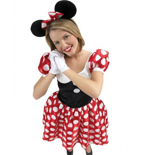 Disney Minnie Mouse Vrouw Kostuum