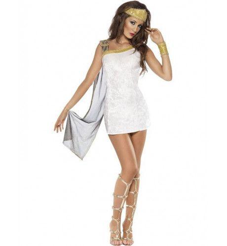 Fever Romeinse Venus Godin Vrouw Kostuum