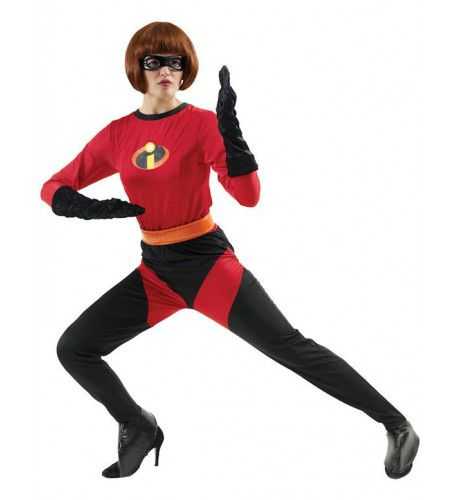Mrs Incredible Superheld Vrouw Kostuum