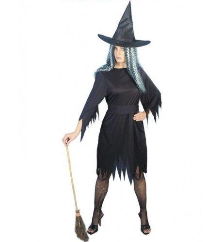 Halloween Goedkoop Heks Vrouw Kostuum
