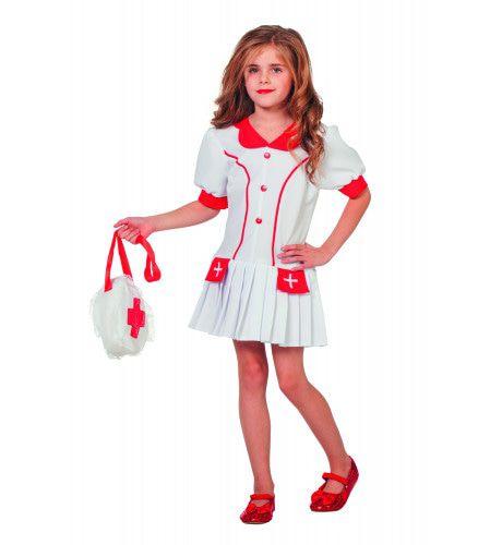 Verpleegster Jufrouw Lisanne Meisje Kostuum