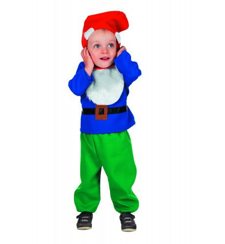 Sprookjesbos Kabouter (Baby) Kind Kostuum