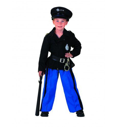 Hollandse Agent Politie Nederland Jongen Kostuum