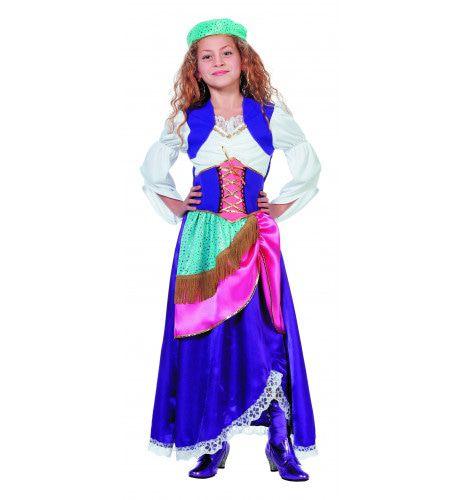 Waarzeggende Zigeunerin Gipsy ( Meisje) Kostuum