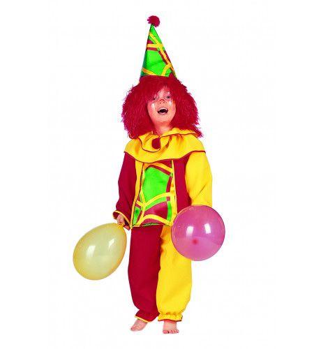 Hilarisch Clowntje Pino Kind Kostuum