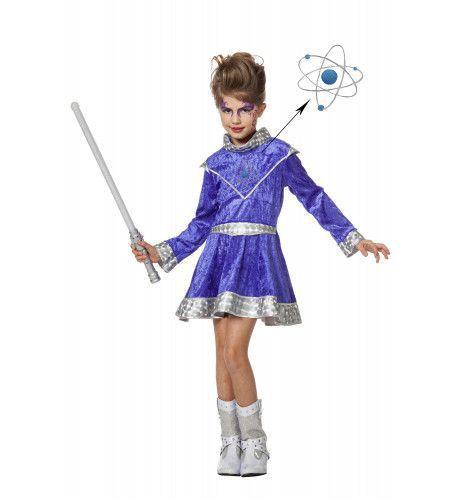 Futuristische Galaxy Meisje Kostuum