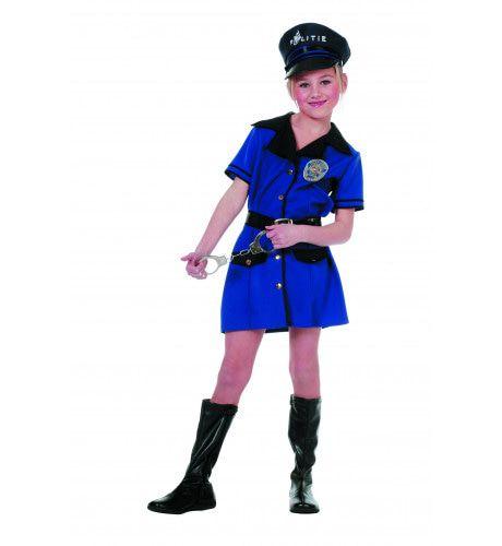 Internationale Politie (Meisje) Kostuum