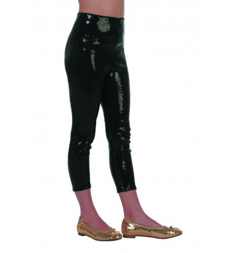 Golden Disco Legging Pailletten
