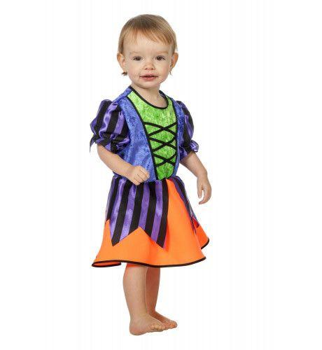 Kleurig En Lief Heksje ( Baby) Kostuum