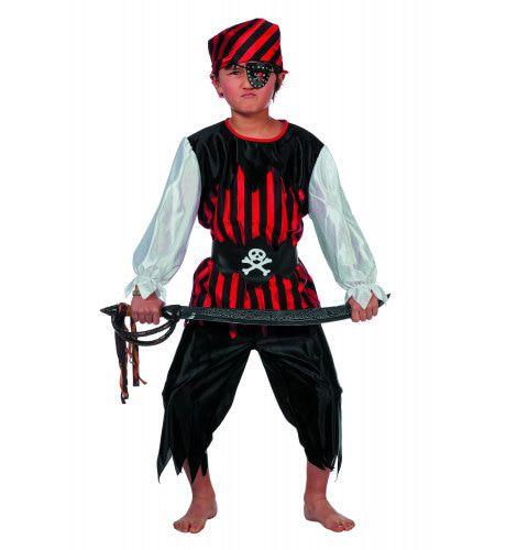 Alcholvrije Piratenjongen Kostuum