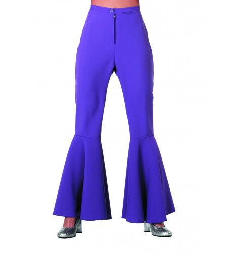 Dancing Purple Hippie Broek Bi-Stretch