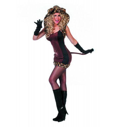 Spinnende Sexy Cat Vrouw Kostuum