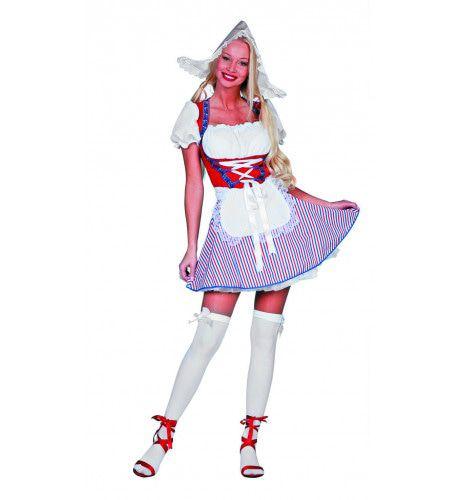 Sexy Hollandse Dame Uit De Polder Vrouw Kostuum