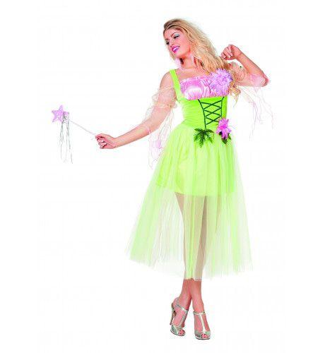 Dromerige Bloemenfee Vrouw Kostuum