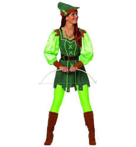 Groene Peter Uit Het Bos Dames Vrouw Kostuum
