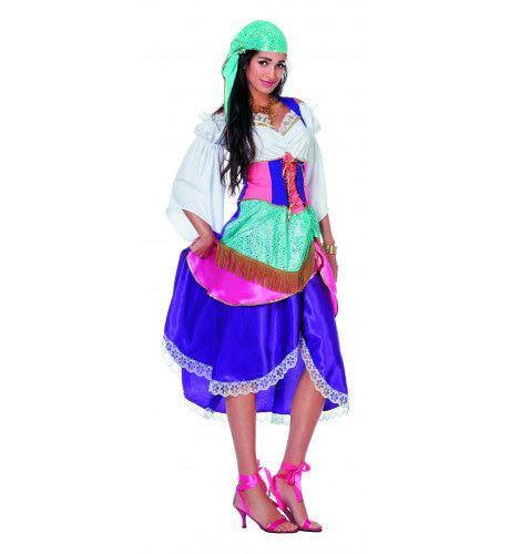 Zigeuner Waarzegster Ms Gipsy Vrouw Kostuum