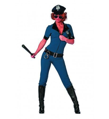 Politie Overall Please Arrest Me Vrouw Kostuum