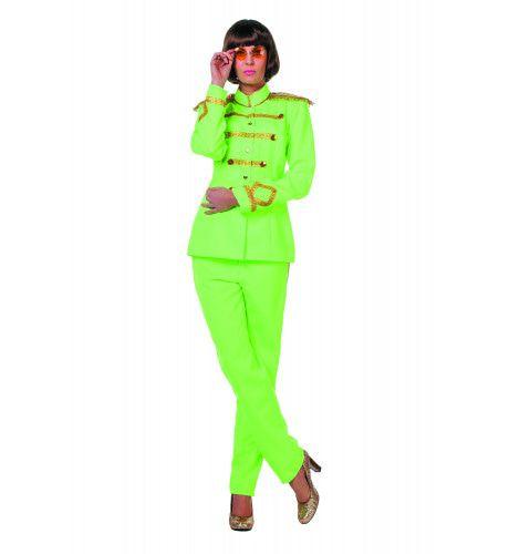 Beatles Sgt. Pepper Groen Vrouw Kostuum