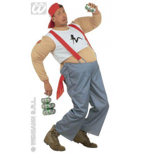 Vette Trucker Man Kostuum