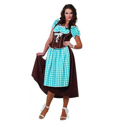 Bavaria Dirndl Suedine Vrouw Kostuum