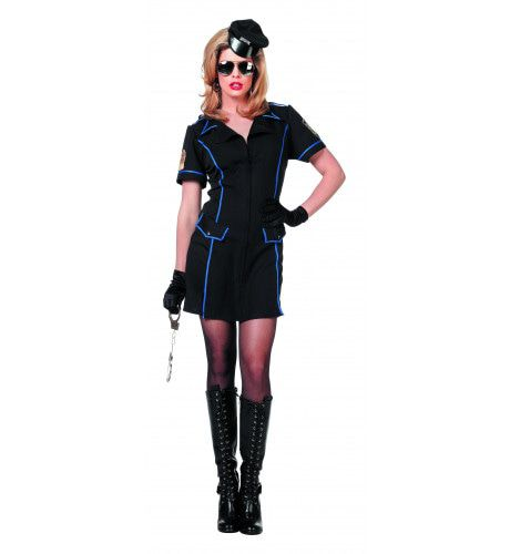 911 Politiedame Vrouw Kostuum