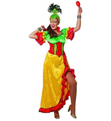 Sao Paolo Grenada Samba Jurk Vrouw