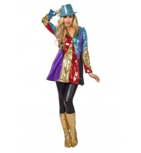 Cirque Du Paris Multi Jas Vrouw Kostuum