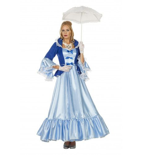 Ms Royal Markiezin Eloise Vrouw Kostuum