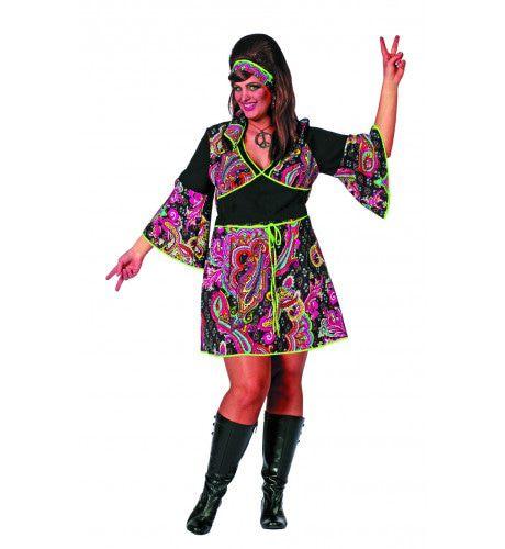 Psychomaster Hippie Jurkje ( Grote Maten) Vrouw