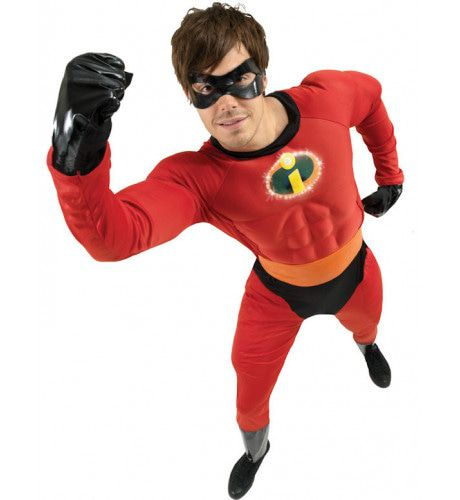 Disney Mr Incredible Superheld Man Kostuum
