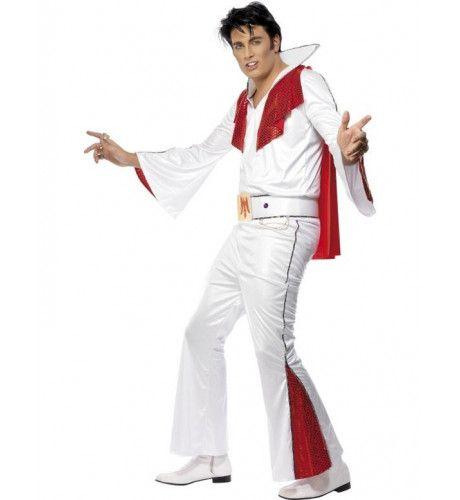 Officieel Elvis Wit Man Kostuum