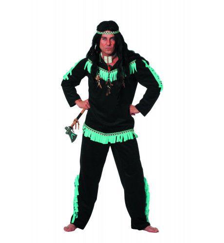Roestige Bijl Indiaan Wishbone Man Kostuum