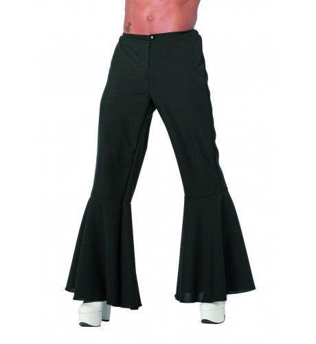 Zwarte Hippie Broek Bi-Stretch
